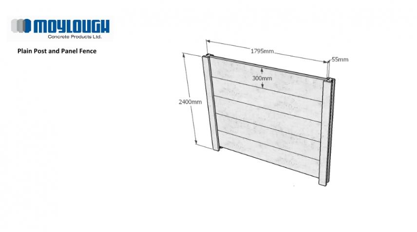 Moylough Concrete Fence Products